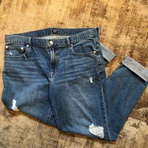 GAP Best Girlfriend Distressed Mom Jeans
